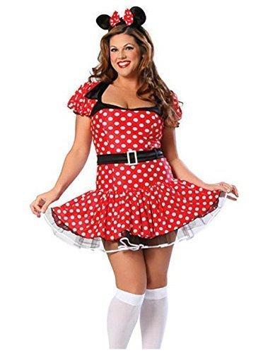 Mujer Talla Grande Disney Minnie Mouse Disfraz Traje Para Mujer