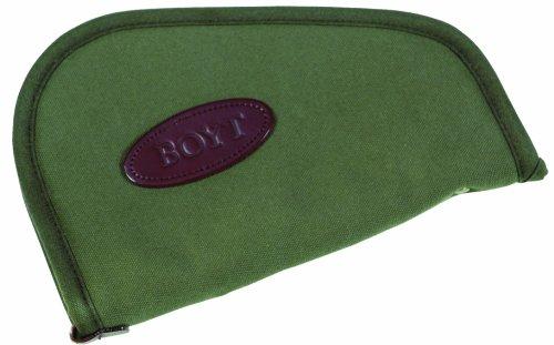 Boyt Harness Heart Shaped Handgun Case (OD Green, (Shaped Pistol Case)