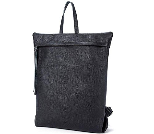 leisure SHOUTIBAO scuola 1 student a double Leather Lady fashion bag andare 3 viaggio backpack Shoulder bag xUrUHwqY