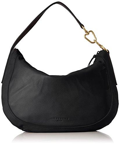 Berlin hombro de y Black Calacm Negro Troyes Liebeskind Shoppers Mujer bolsos BWHwC66q