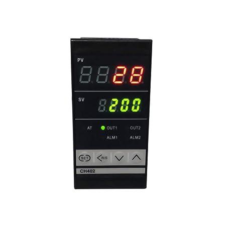 Controlador de temperatura PID digital de doble pantalla ...