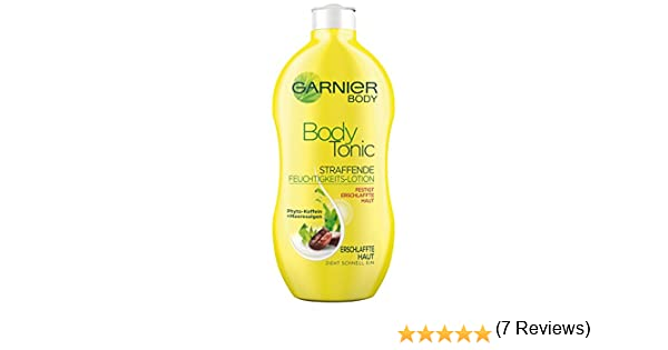 Garnier Body Tonic Reafirmante algas cafeína loción hidratante, 400 ml, 1-pack: Amazon.es: Belleza
