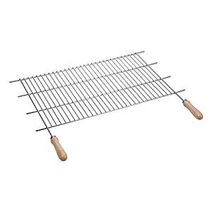 sauvic 02475 grille de barbecue zingu e avec manches acier. Black Bedroom Furniture Sets. Home Design Ideas