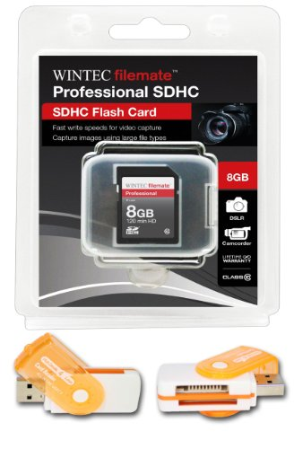 (8GB Class 10 SDHC Team High Speed Memory Card 20MB/Sec. Fastest Card in the Market FOR CANON DIGITAL CAMERA A570 IS A580 G9. A free High Speed USB Adapter is included. Comes with.)