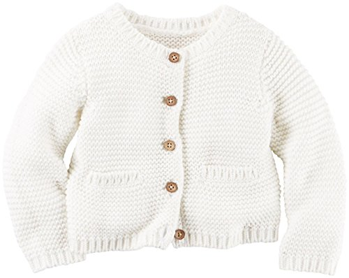 Carter#039s Baby Girls#039 Layering Ivory 3 Months