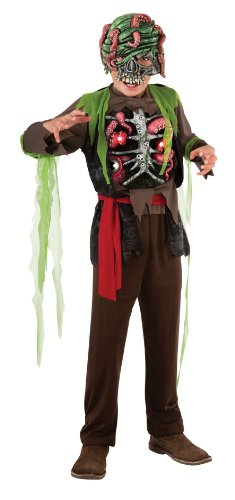 Ghost Boys Pirate Costume (Halloween Sensations Child's Pirate Costume,)