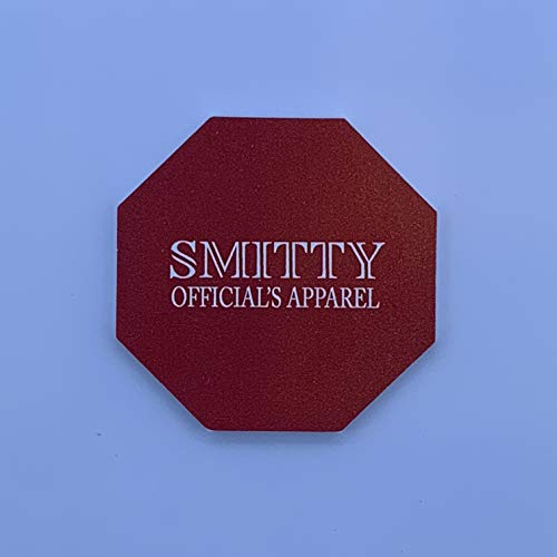 Smitty | ACS-701 | Red Green Flip Disc | Wrestling | Referee Officials ()