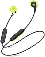 JBL JBLENDURRUNBTBNL Endurance Run Sweatproof Wired Sport In-Ear Headphone, Blacklime