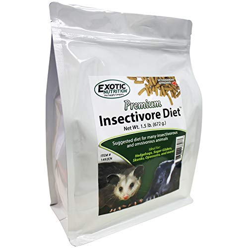 (Exotic Nutrition Premium Insectivore Diet 3 lb. - Food for Insect-Eating Animals)