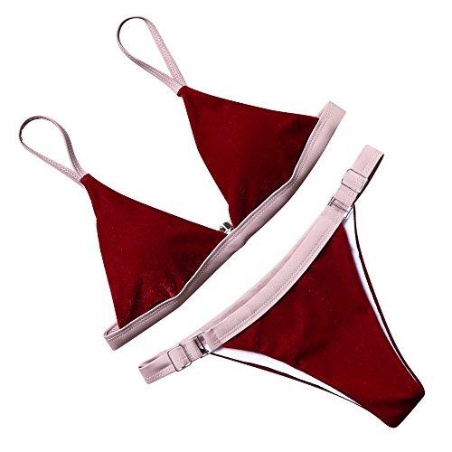 MOOSKINI Triangle Brazilian Swimsuit Swimwear