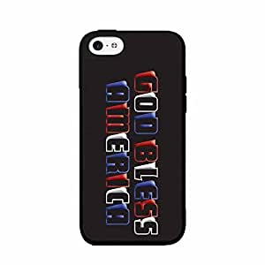 God Bless America 2-Piece Dual Layer Phone Case Back Cover iPhone 4 4s