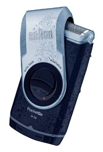 Braun PocketGo P-70 Men's Shaver by Braun