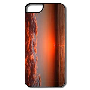 Case For Iphone 4/4S Cover, Bloody Sunset Cover Case For Iphone 4/4S CoverWhite/black Hard Plastic