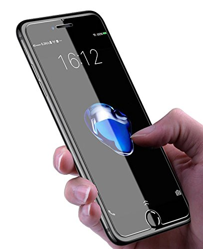 Aslanda iphone 8 /7 /6s Tempered Glass Screen Protector. 9H hardness 3D Touch Compatible Best Glass for Your best phone (Glass)
