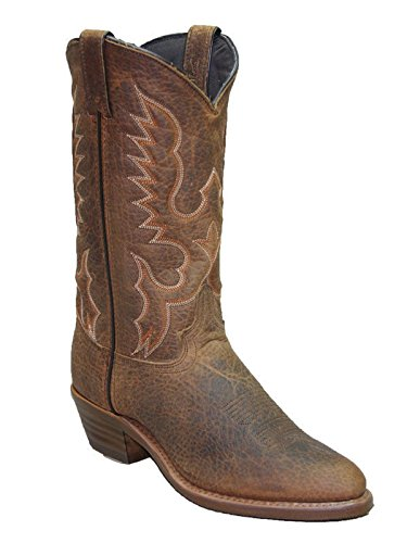 (Abilene Men's Bison R Toe Cowboy Boot 6403 )