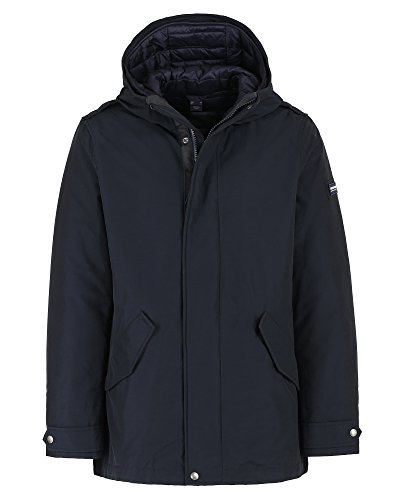 Military dkn Dark Wocps2587 Navy Long Eskimo Woolrich Blue cn03 EqTIxvwxB