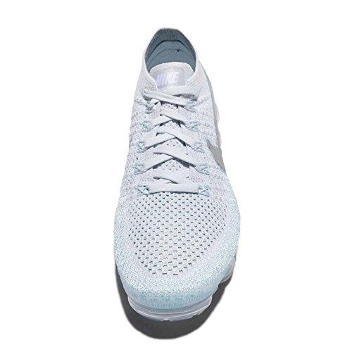 Platinum Silver Nike pure Blu 5 Silver 44 Pure Flyknit Nike849557 Air Vapormax Eu 014 metallic Donna aZT8Uar
