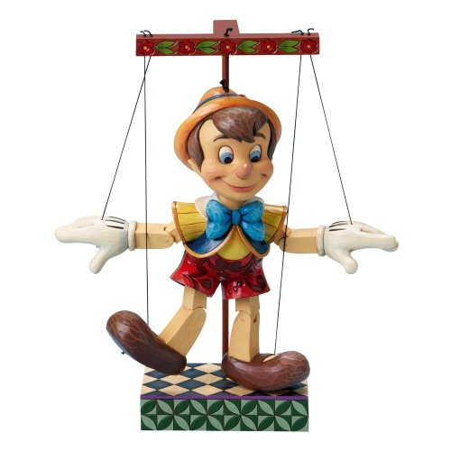 Enesco Disney Traditions by Jim Shore 4016583 Pinocchio Marionette Figurine 13-1/2-Inch (Marionette Pinocchio)