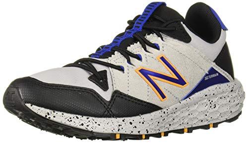 New Balance Boys' Craig V1 Running Shoe, rain Cloud/Black/Team Royal, 1 M US Little Kid