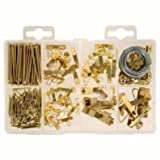 Tools & Hardware : Picture Hanging Kit Asst