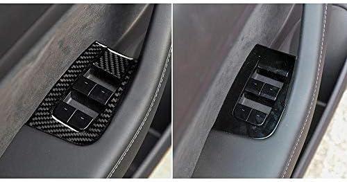 Car Glass Elevator Button Carbon Fiber Sticker Dokfin Door