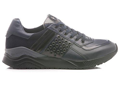 Paciotti 4US Scarpe-Sneakers Basse Uomo Pelle Blu QQAU3GR