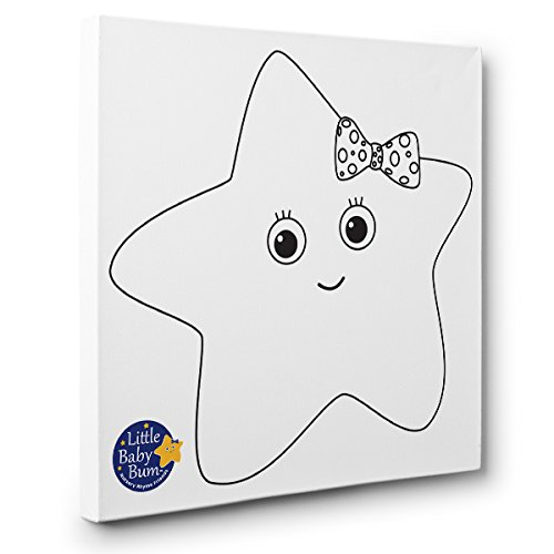 (Twinkle The Star Kids Room Coloring Canvas)