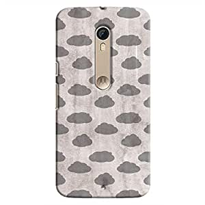 Cover It Up - Grey Clouds Moto X Style Hard case