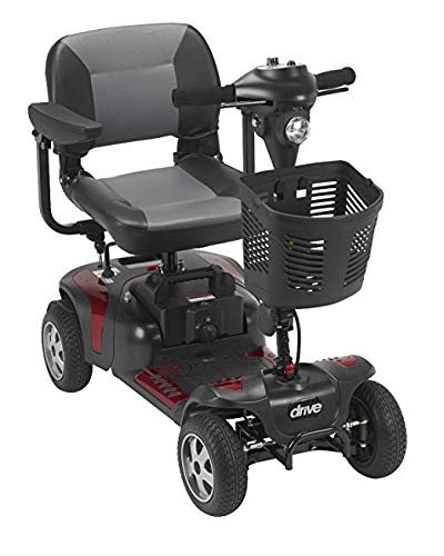 Phoenix 4 Wheel Heavy Duty Scooter by Drive Medical, 20 Wide Seat Includes 5 Year Protection Plan