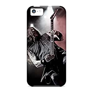 Shock Absorbent Hard Cell-phone Cases For Iphone 5c With Provide Private Custom Lifelike Machine Head Band Series TimeaJoyce
