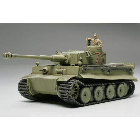 Tamiya Military Miniatures Model - Tamiya America, Inc 1/48 Germ Tiger I Initial Africa, TAM32529