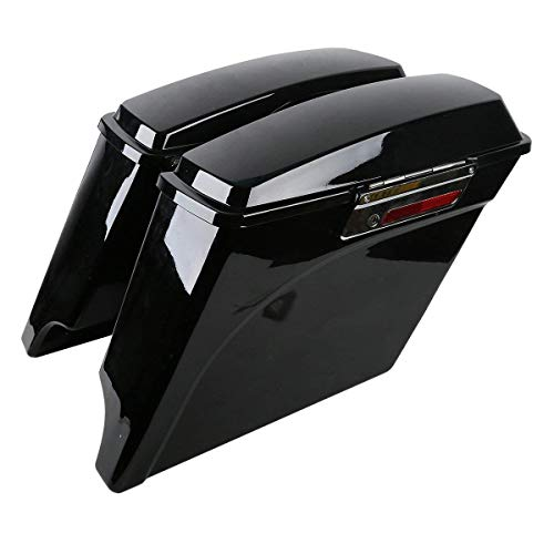 (Hard Saddlebags for Electra Glide Road King Street Glide Touring Models 2014-2019 5