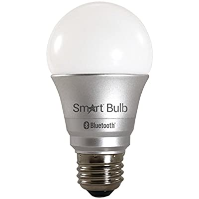 STAR TECH BT053 Smart Bulb 3000K Bluetooth(R) 4.0-Controlled LED Bulb Home & Garden