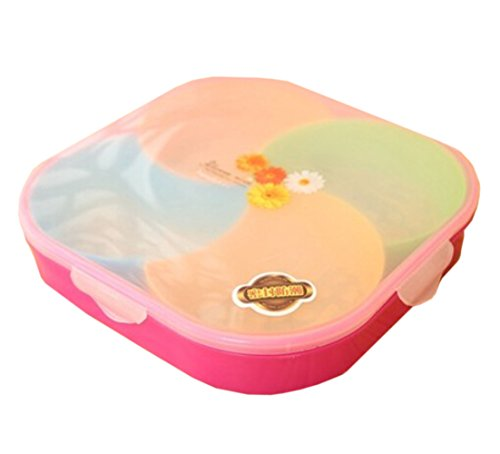 Creative Colorful Square Plate Tray Detachable Multifunction Trays