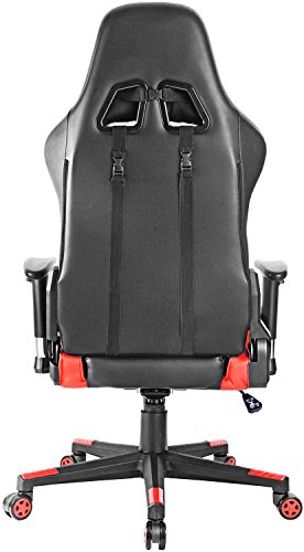 Gtracing Music Gaming Chair With Footrest And Bluetooth Speakers Video Game Chair