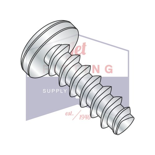 4-20X1 Plastite Style Thread Forming Screws | Phillips | Pan Head | Steel | Zinc (QUANTITY: 10000) by Jet Fitting & Supply Corp