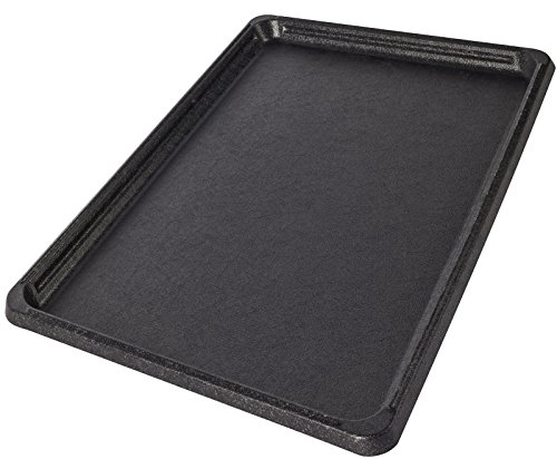 Replacement Tray for Dog Crate Pans - Medium 24 Inch Plastic Bottom Pan Floor Liners for Pet Cages Crates Kennels Dogs Cat Rabbit Ferret Critter Nation Folding Metal Wire Training ()