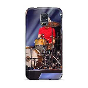 Excellent Hard Cell-phone Case For Samsung Galaxy S5 (eqU5385AwCs) Unique Design High Resolution Rolling Stones Image