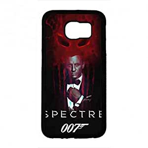 Awesome Spectre 007 Funda,007 Spectre Funda Black Hard Plastic Case Cover For Samsung Galaxy S6