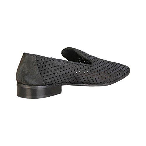 V 1969 - GAEL_NERO Glisser Sur Mocassins Loafers En Cuir Hommes