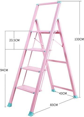 JLDN Escalerilla, 4 Peldaños Escalera Plegable Escalera Stepladder ...