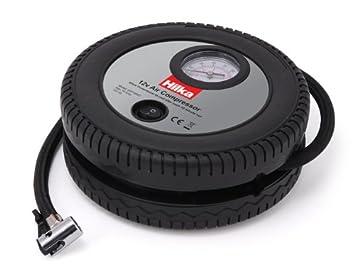 Hilka 83010400-12 V Del Coche Compresor De Aire: Amazon.es: Bricolaje y herramientas