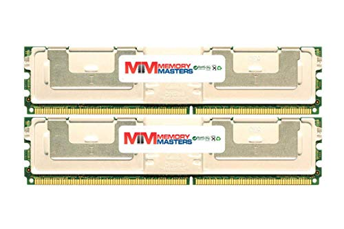 MemoryMasters 16GB (2x8GB) DDR2-667MHz PC2-5300 ECC FBDIMM 2Rx4 1.8V Fully Buffered Memory for Server/Workstation