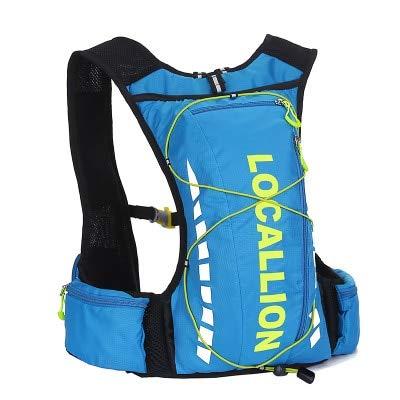 Amazon.com: DHmart Waterproof Polyester Men Women Trail Running Backpack Outdoor Sports Marathon Vest Pack Fishing Mochila Cycling Bicycle Bike Bag: Kitchen ...