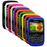 10 Silicone Cases for Blackberry Curve 8520/8530/9300/9330. Colors: Blue, Orange, Green, Yellow, Purple, Black, Pink, Hot Pink, Red and White