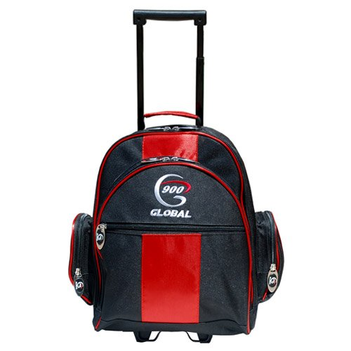 Value Single Roller Red/Black - RED/BLACK / 1 BALL by 900 Global
