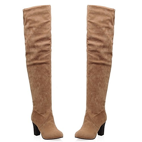 Yellow Boots Zipper RAZAMAZA Half Women YngSqn7x1