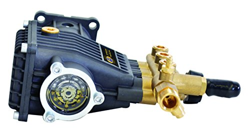 SIMPSON Cleaning 90036 Triplex Plunger Horizontal Pressure Washer Replacement Pump 9.6GA12 3200PSI @ 2.8GPM with Brass Head and Powerboost Technology by Simpson Cleaning
