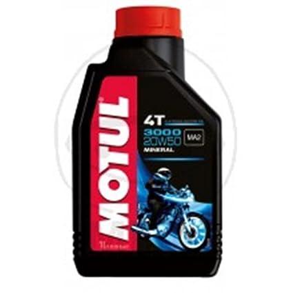 MOTUL 4T 20 W50 aceite mineral 1liter: Amazon.es: Coche y moto