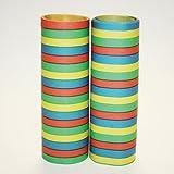 Bright Coloured Serpentine Streamers